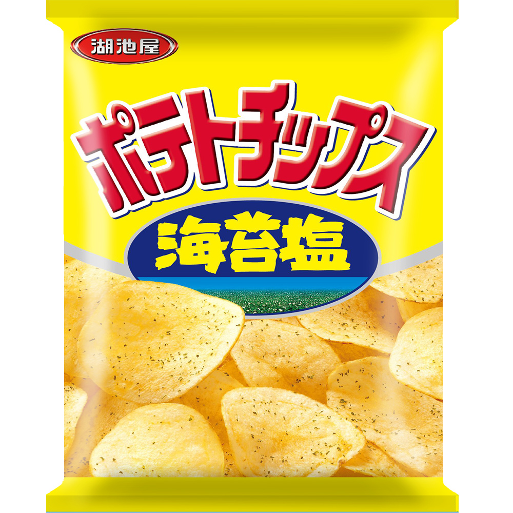 Image Koikeya Potato Chips 湖池屋 - 海苔盐洋芋片 36grams