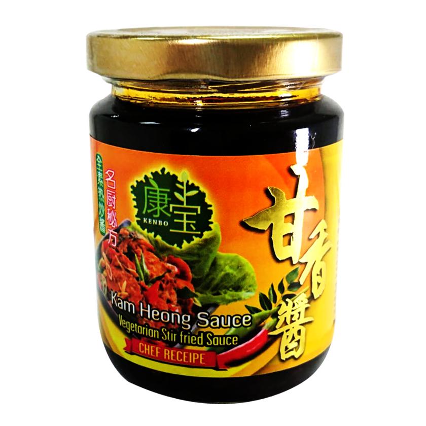 Image Kenbo Kam Heong Sauce 康宝甘香酱(纯素) 250grams