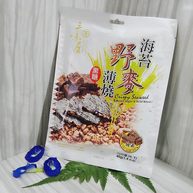 Image Crispy Seaweed (Brown Sugar) 三味屋 - 苔野麦薄烧 40grams