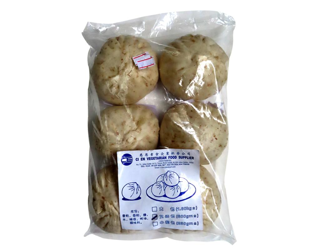 Image Ci En Wheat Char Siew Buns 慈恩麦片叉烧包 (6pcs)