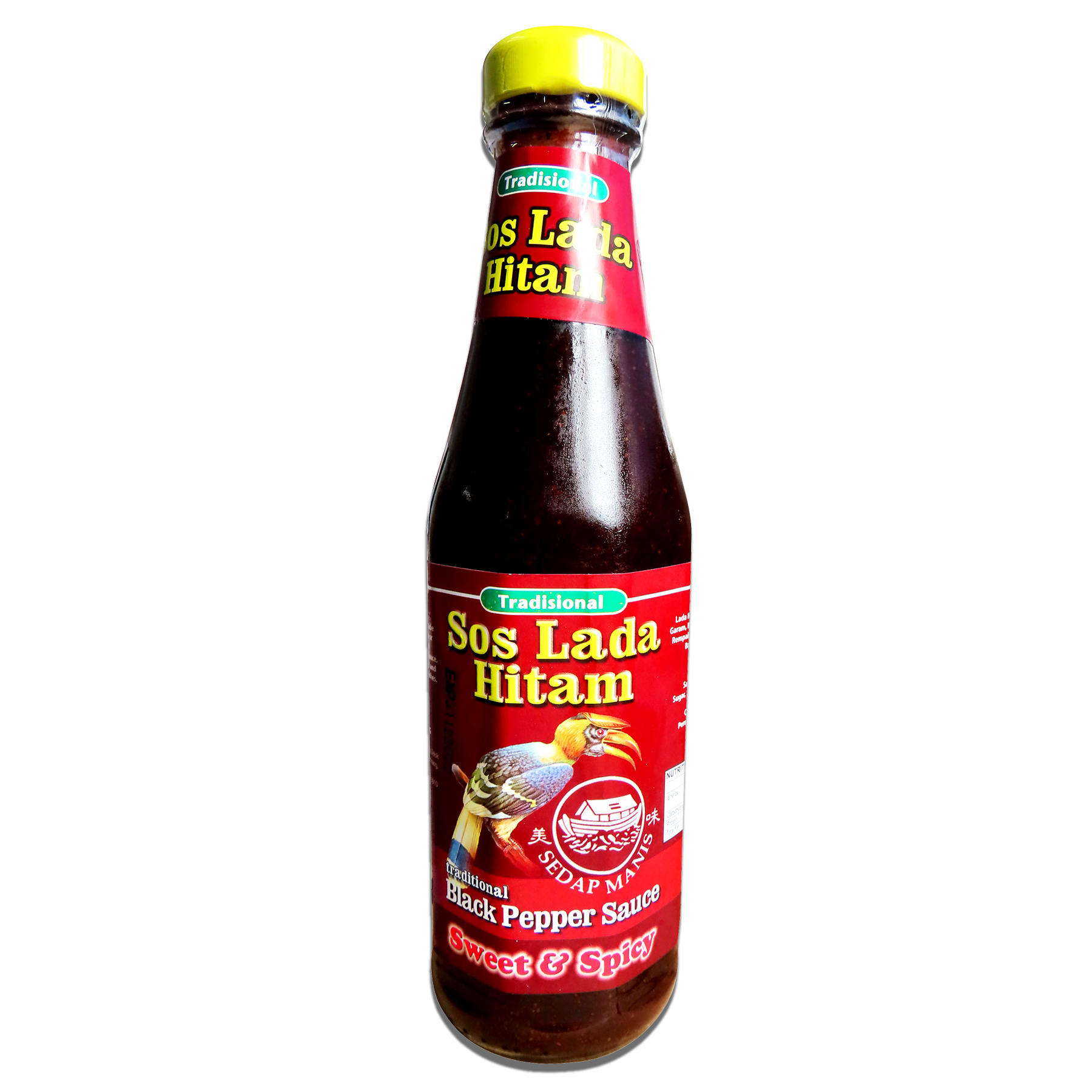 Image Traditional Sweet & Spicy Black Pepper Sauce 传统 (甜辣) 黑胡椒酱 340grams