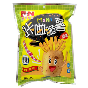 Image Mini Fries Salted 咔啦脆薯盐味 (7pkt) 105grams