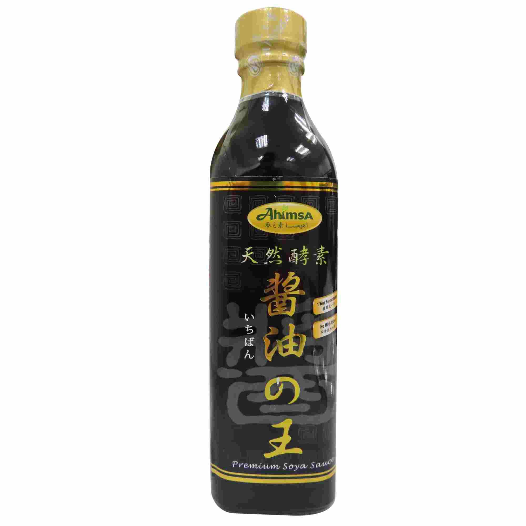 Image Ashimsa Premium Soya Sauce 麦之素酱油の王 500grams