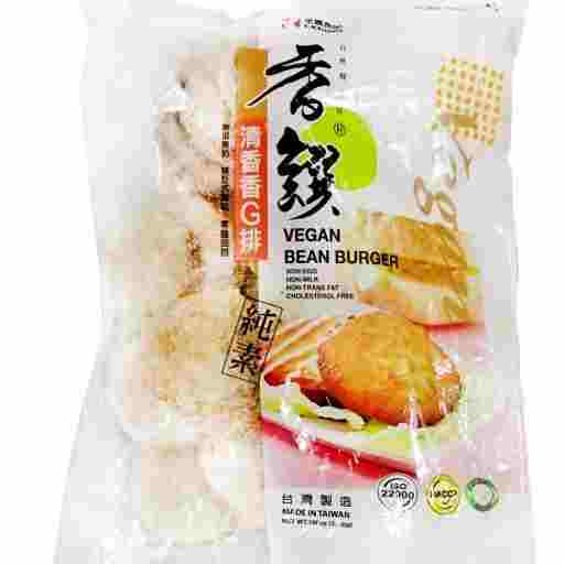 Image Vegan Bean Burger 全广 - 香馔香G排 600grams