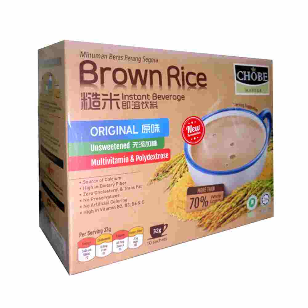 Image Original Brown Rice 糙米王 - 原味糙米即溶饮品 (10 sachets) 320grams