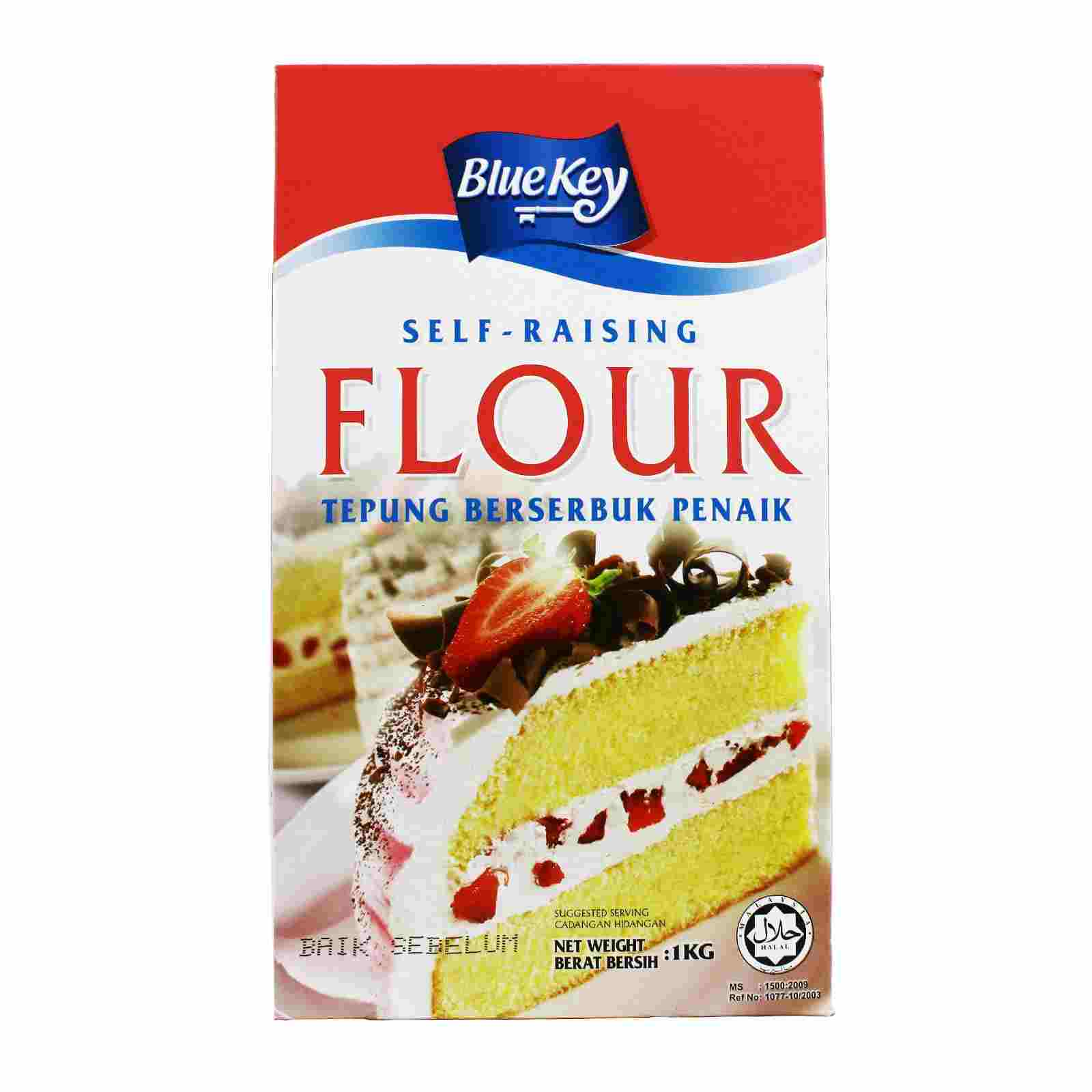 Image Bluekey self raising flour 自发粉 1000grams