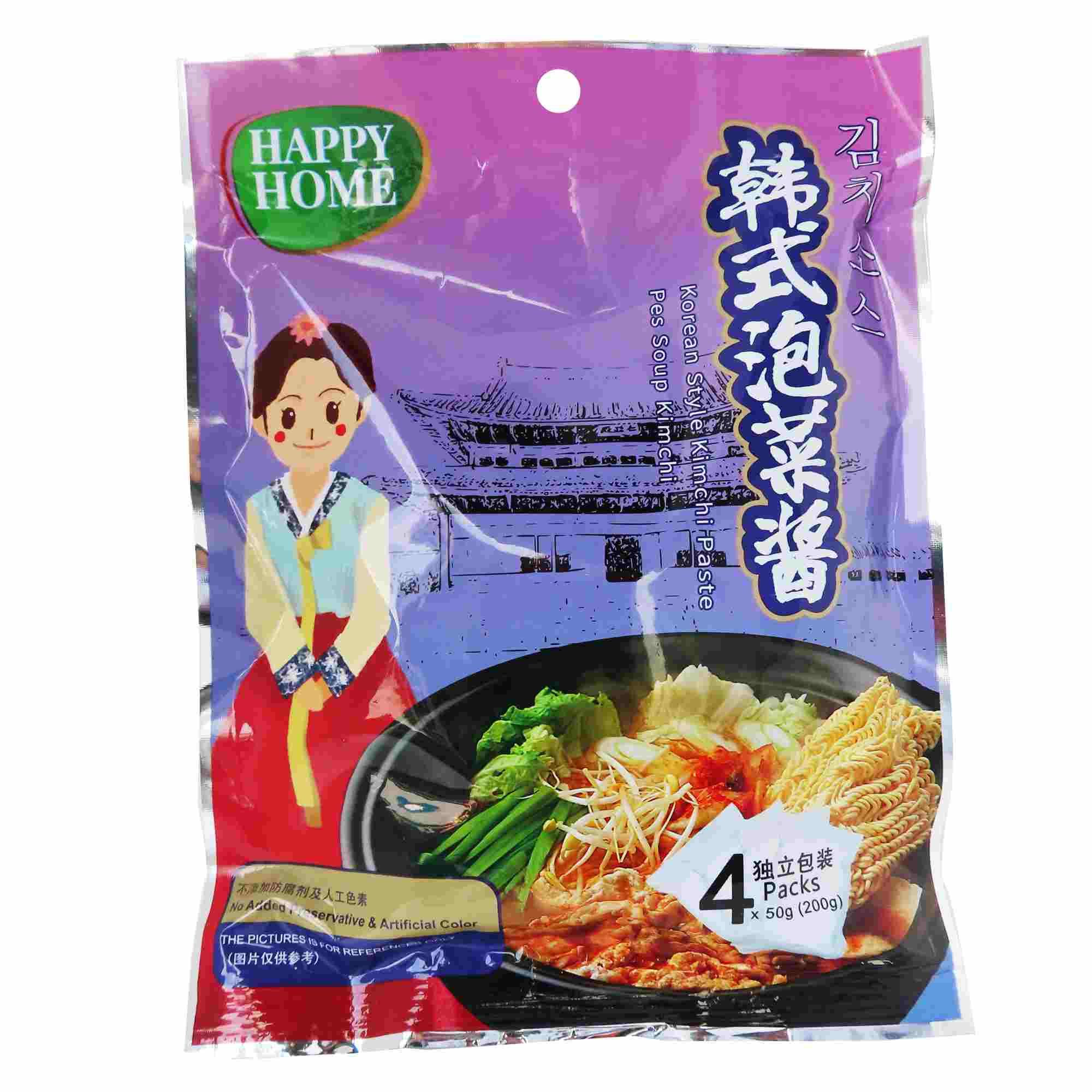 Image Happy Home Korean Style Kimchi Paste 韩式泡菜酱 200grams