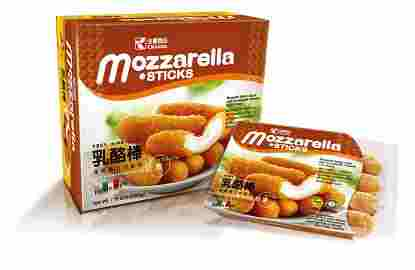 Image Mozarella Cheese Stick 全广 - 乳酪棒 (盒) 2000grams