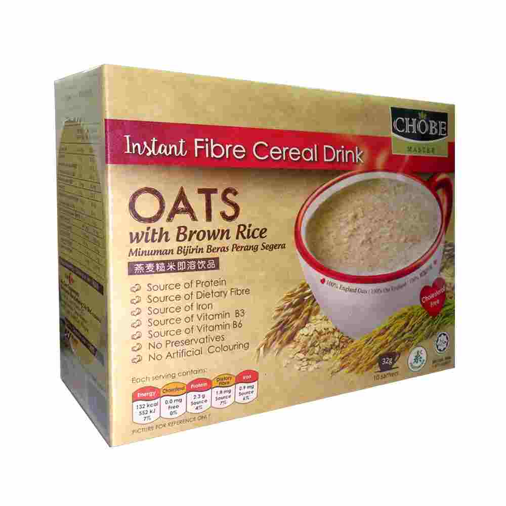 Image Oats Brown Rice 糙米王 - 燕麦糙米即溶饮品 (10 sachets) 320grams