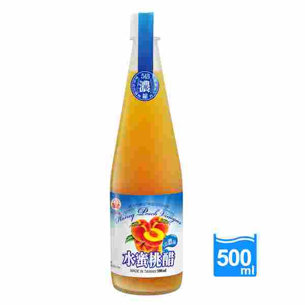 Image Honey Peach Vinegar 崇德发-水蜜桃醋 500 grams