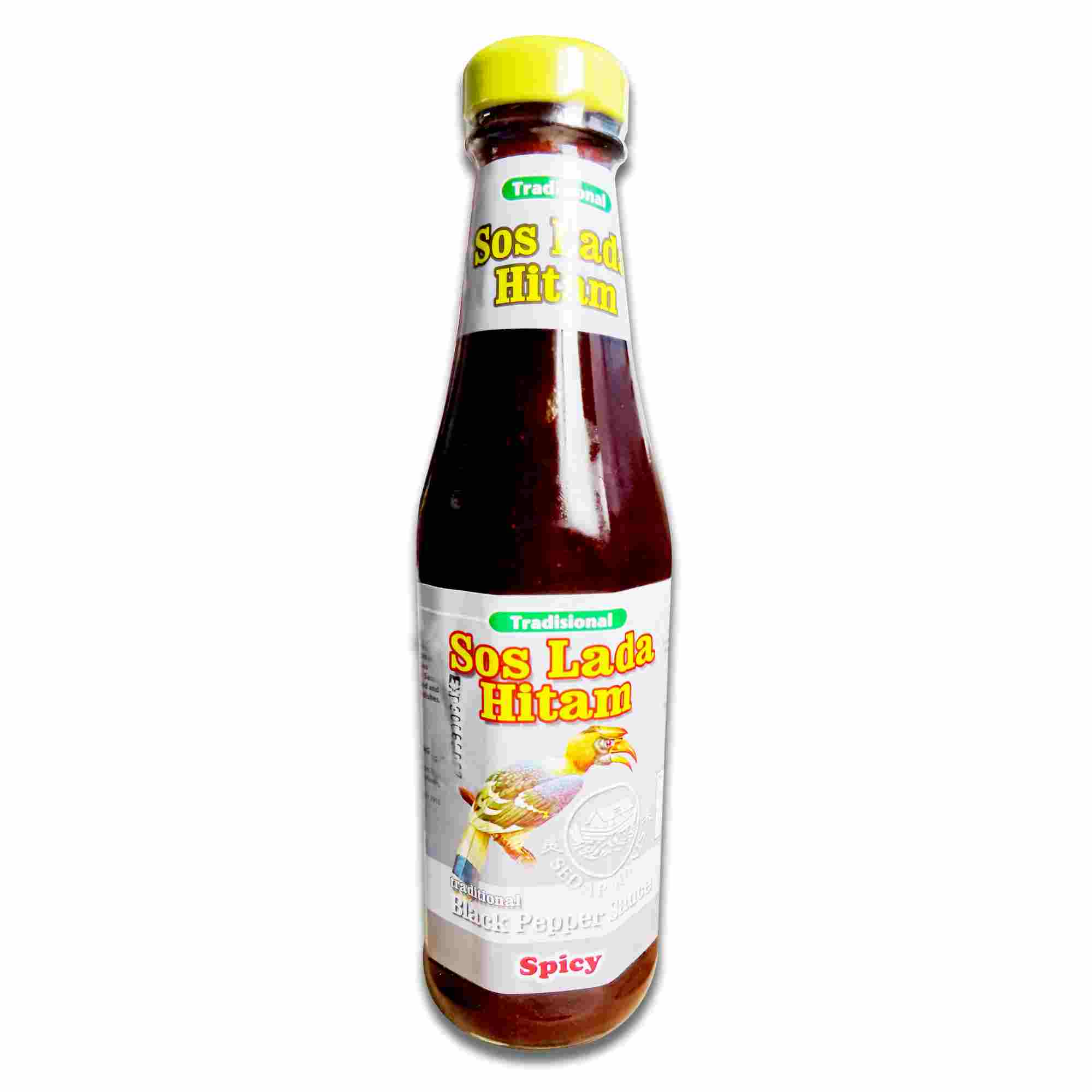 Image Traditional Spicy Black Pepper Sauce 传统(辣)黑胡椒酱 340 grams