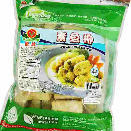 Image Vegefarm Vege Fish Stick 松珍 - 素鱼柳 454grams