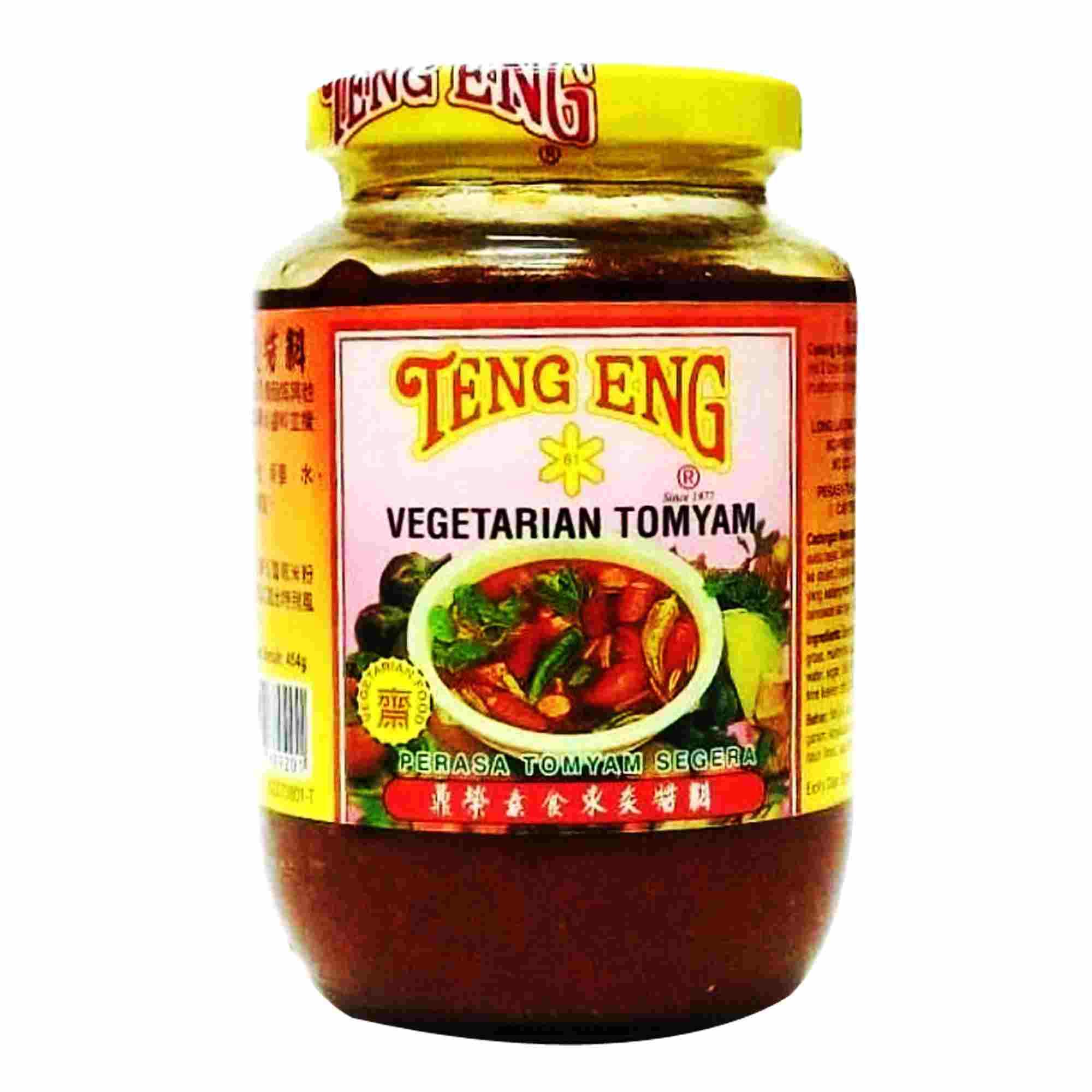 Image Teng Eng Vegetarian Tom Yam 鼎荣-素食东炎酱料 454grams