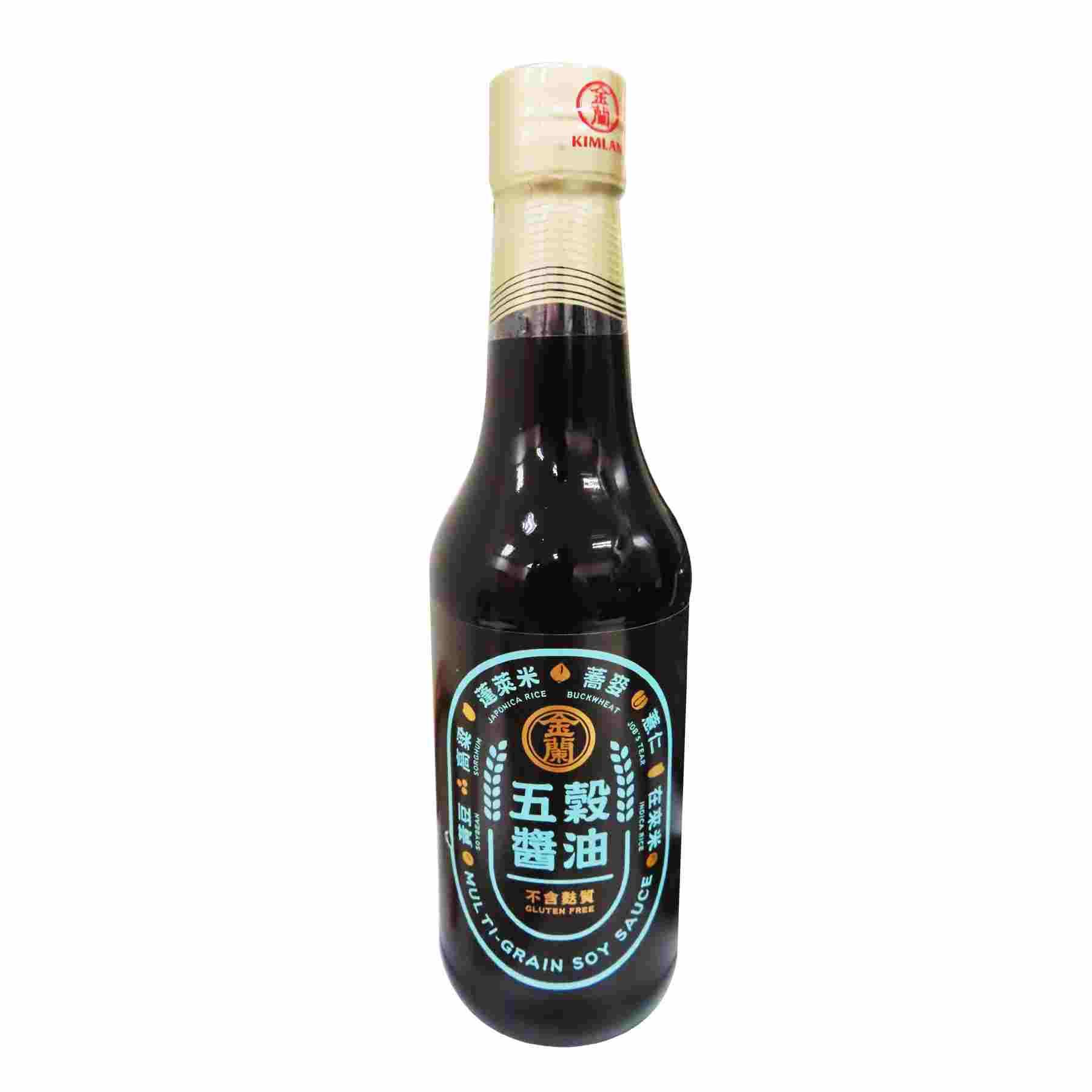 Image Multi-grain Soy Sauce 金兰 - 五谷醬油 500 grams