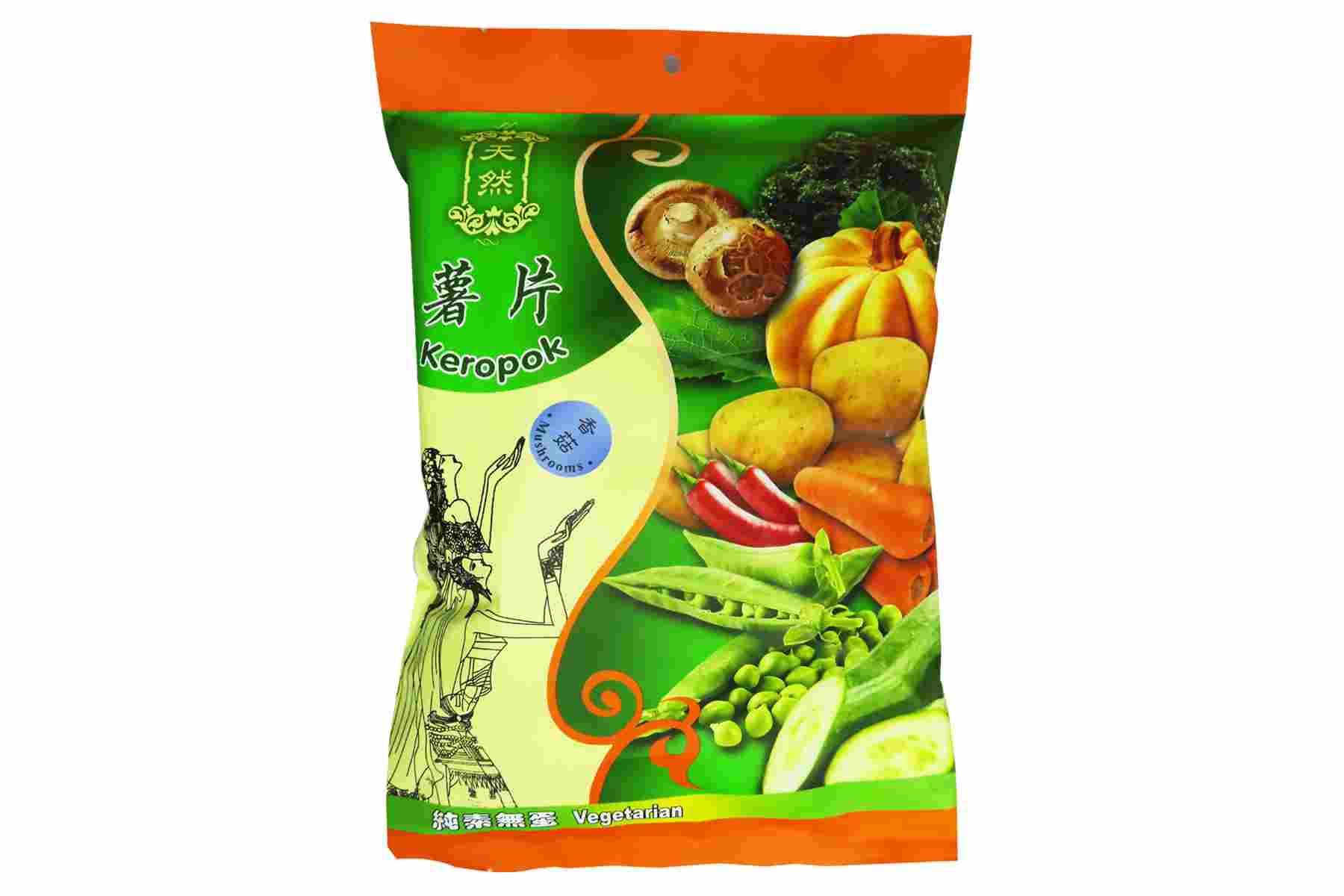 Image Kun Yi Mushroom Cracker 昆益 - 香菇薯片 40grams