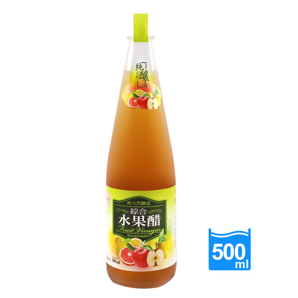 Image VW Fruit Vinegar 崇德发-综合水果醋 500grams