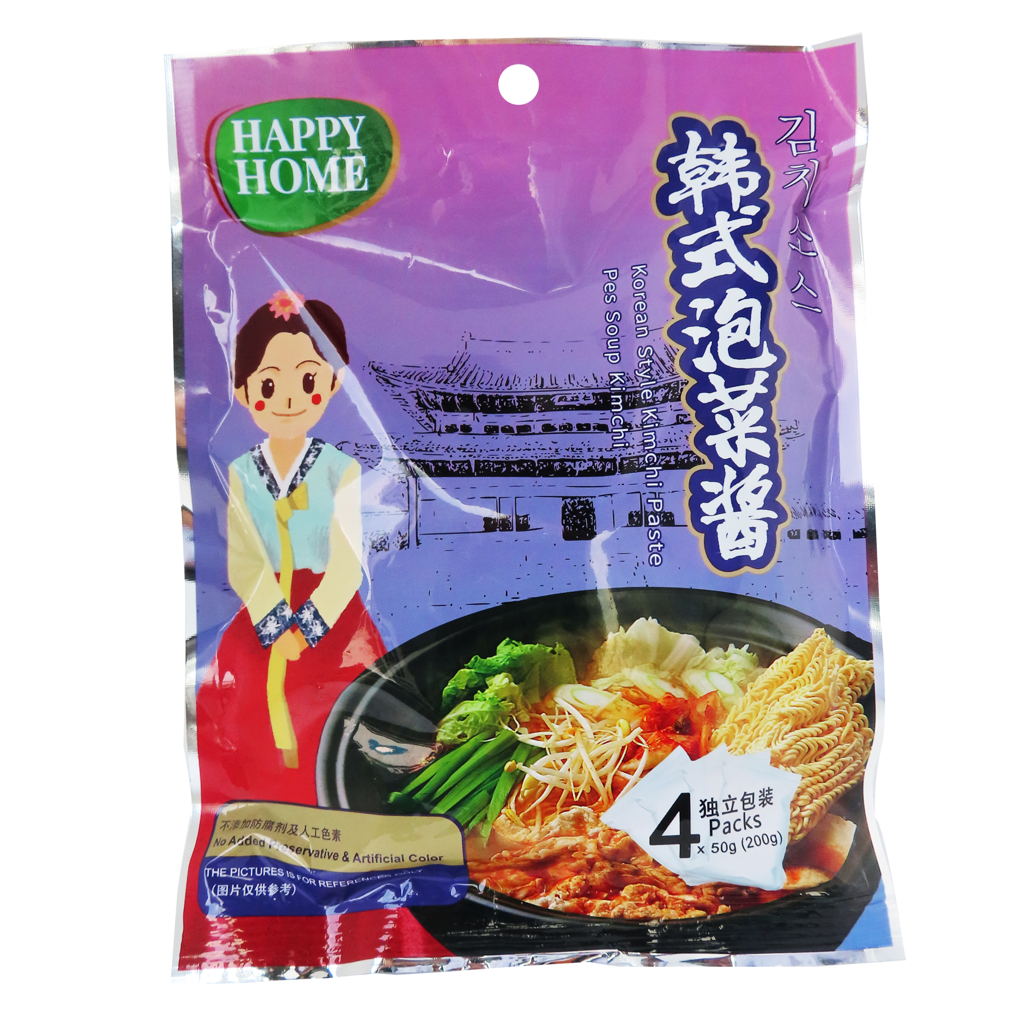 Image Happy Home Korean Style Kimchi Paste 韩式泡菜酱 200grams
