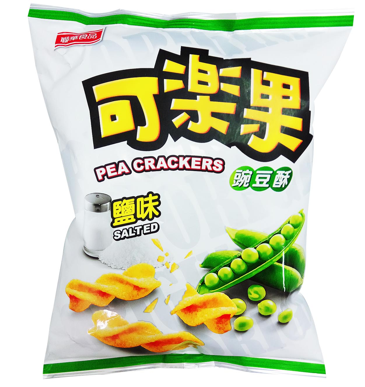 Image Pea Cracker (Salted) 麟华 - 盐味可乐果 72grams