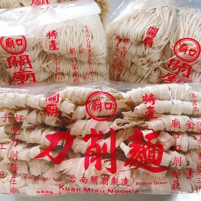 Image Miawko Knife Sliced Noodles 庙口-刀削面 900grams