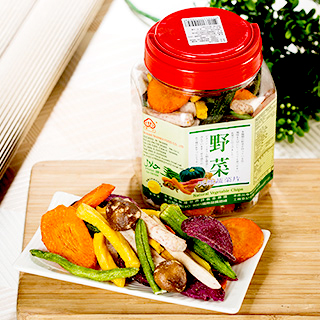Image Natural Vegetable Chips 野菜 - 天然蔬菜片 240grams
