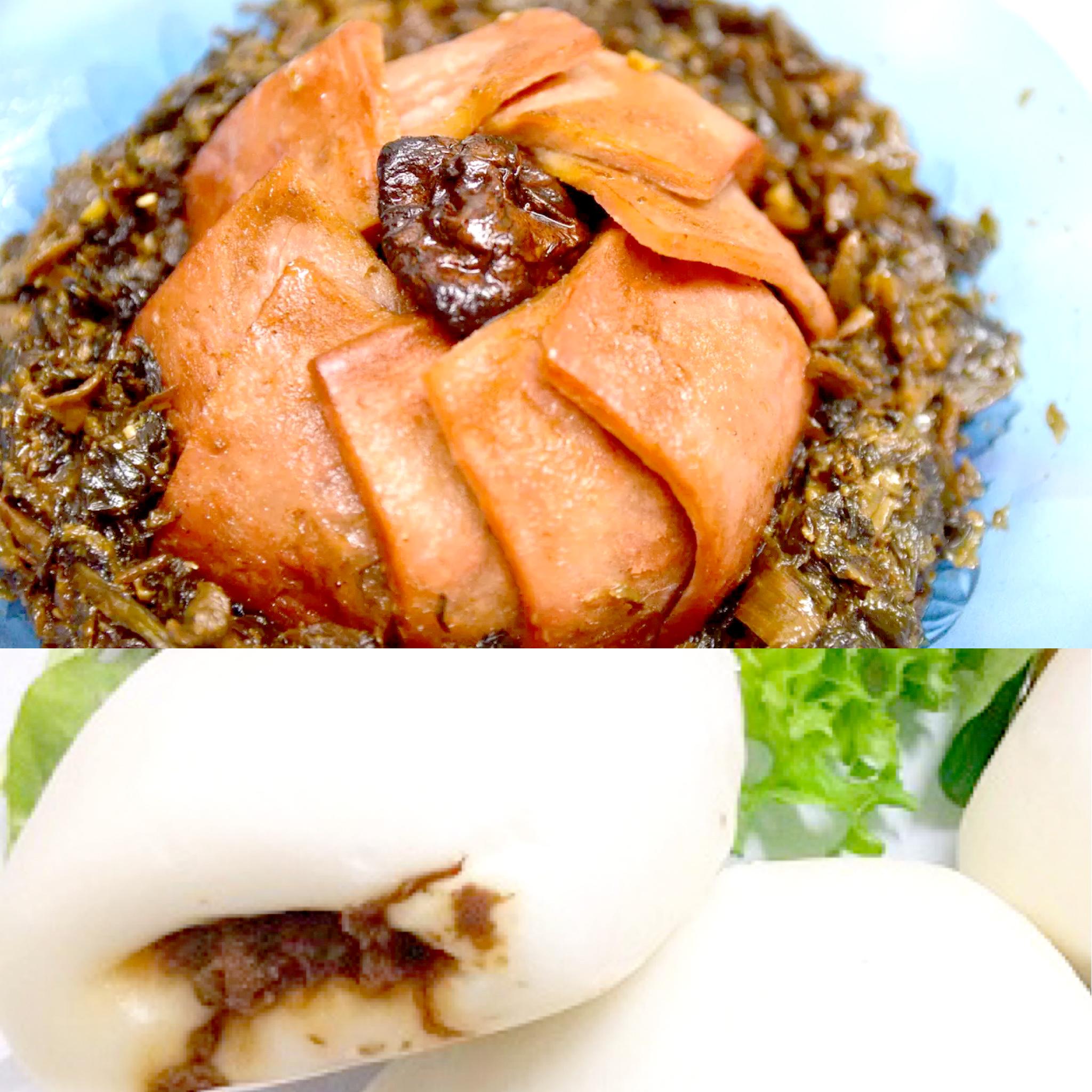 Image vegetarian braised Package bundle 卤味扣肉包组合
