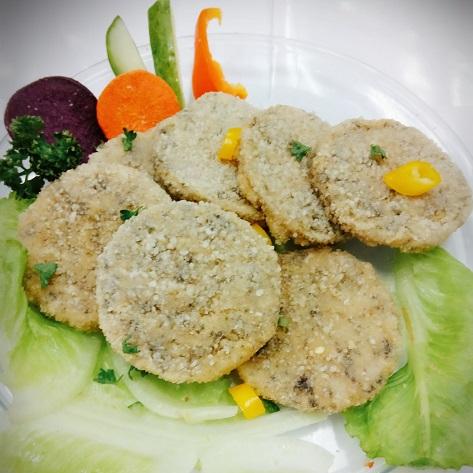 Image Veggie Burdock Burger 全广-牛蒡丝蔬排 600 grams