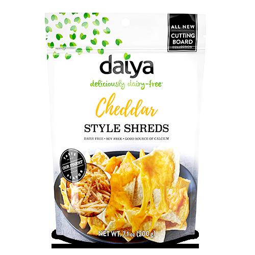 Image Daiya vegan Cheddar Style Shreds Daiya - 奶酪丝(黄) 200grams