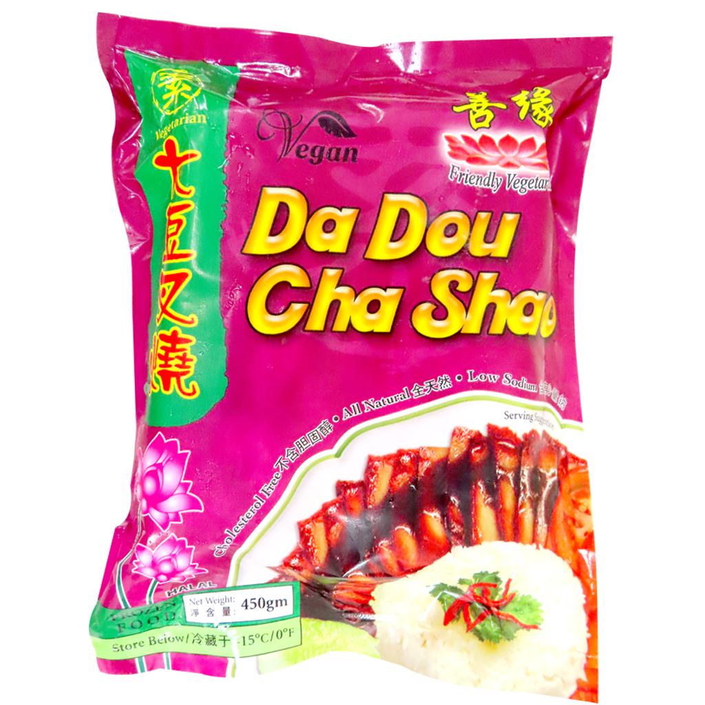 Image Soy Char Siew Da Dou cha Shao 善缘-大豆叉烧 450 grams