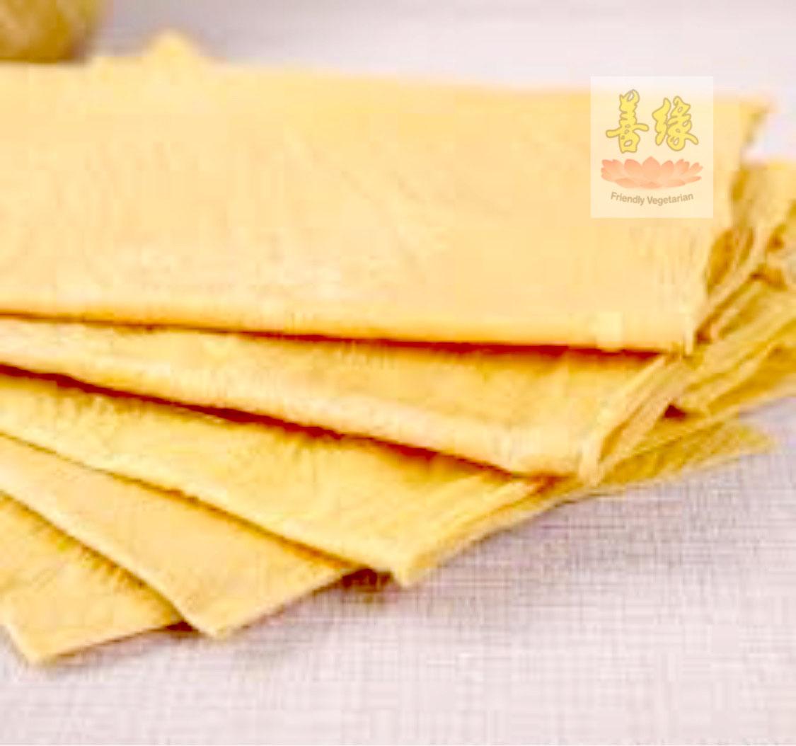 Image Unsalted beancurd skin (wraps) No. 1 - 淡豆皮 130 grams