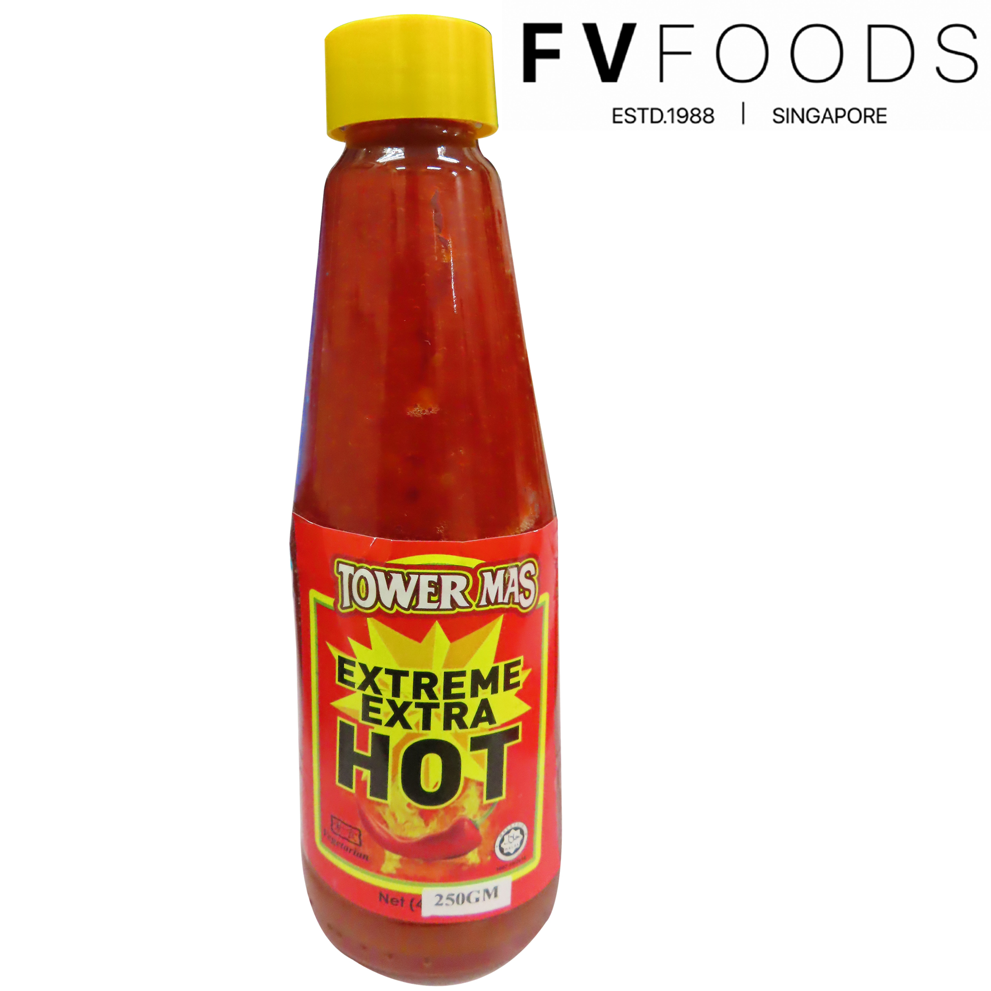 Image Tower Mas Extreme Extra Hot Chili 金塔 - 特辣辣椒 250grams