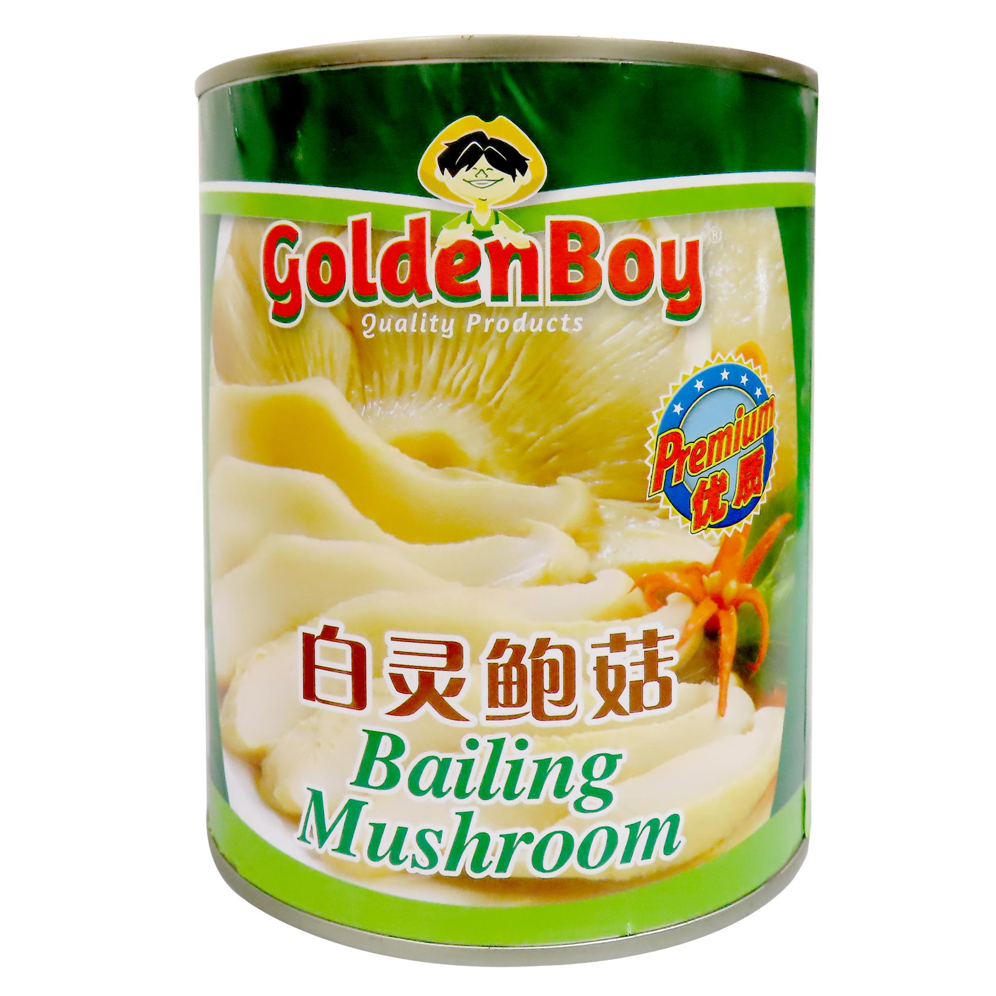 Image Golden Boy Bailing Mushroom 白灵鲍菇 850grams