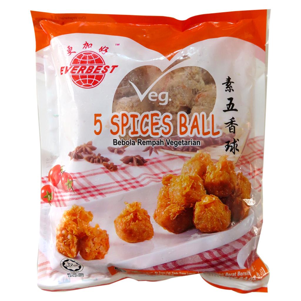 Image Veg 5 Spices Ball 更加好 - 素五香球 500grams