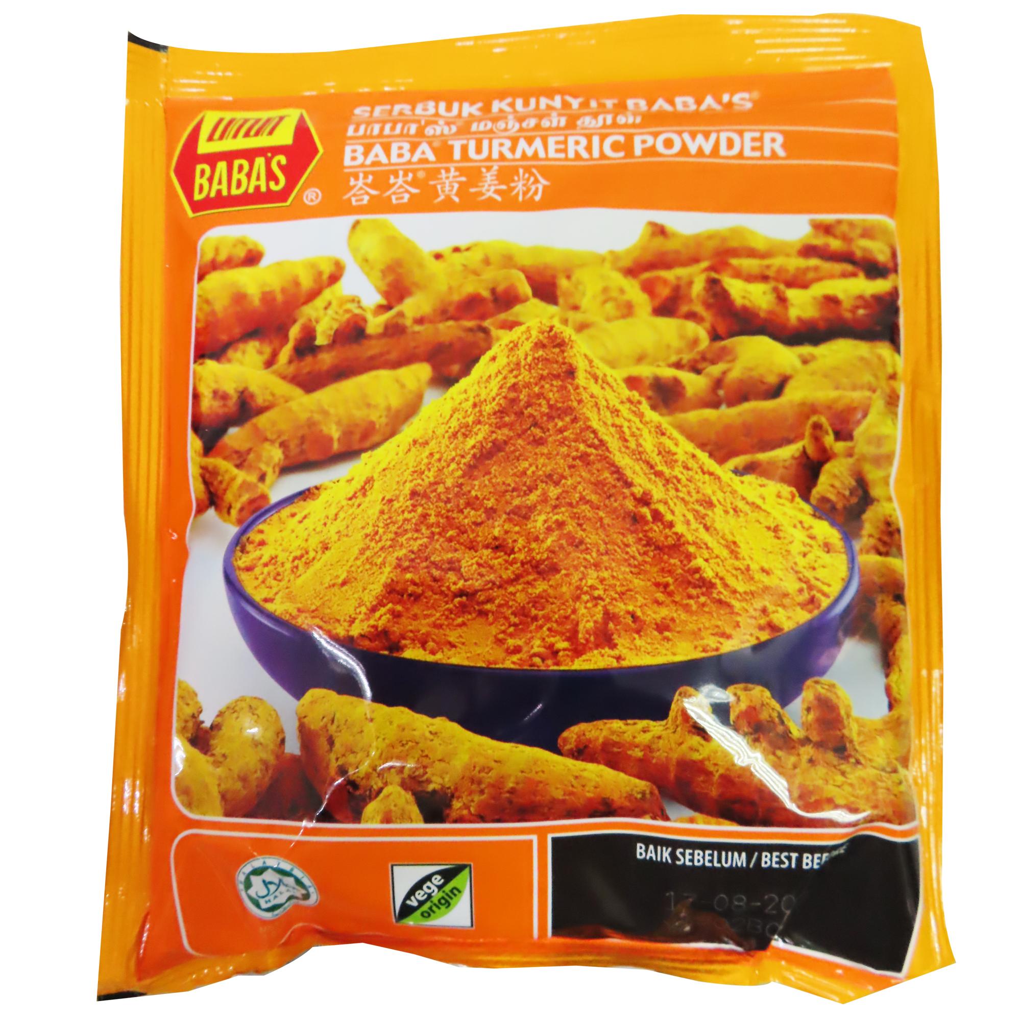 Image Baba Tumeric Powder 250g - 姜黄粉