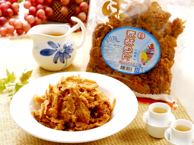 Image NO Squid Flavour Soybean Slice 富贵香 - 素鱿鱼片 300grams