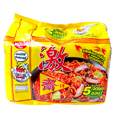 Image Nissin Korean Style Spicy Noodle 韩式 (激)辣味汤面 300grams