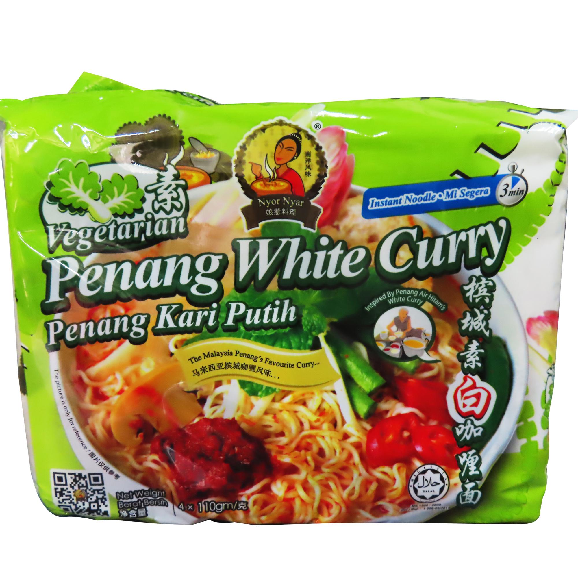 Image Nyor Nyar Vegetarian Penang White Curry Noodles 娘惹-槟城白咖哩面 440grams