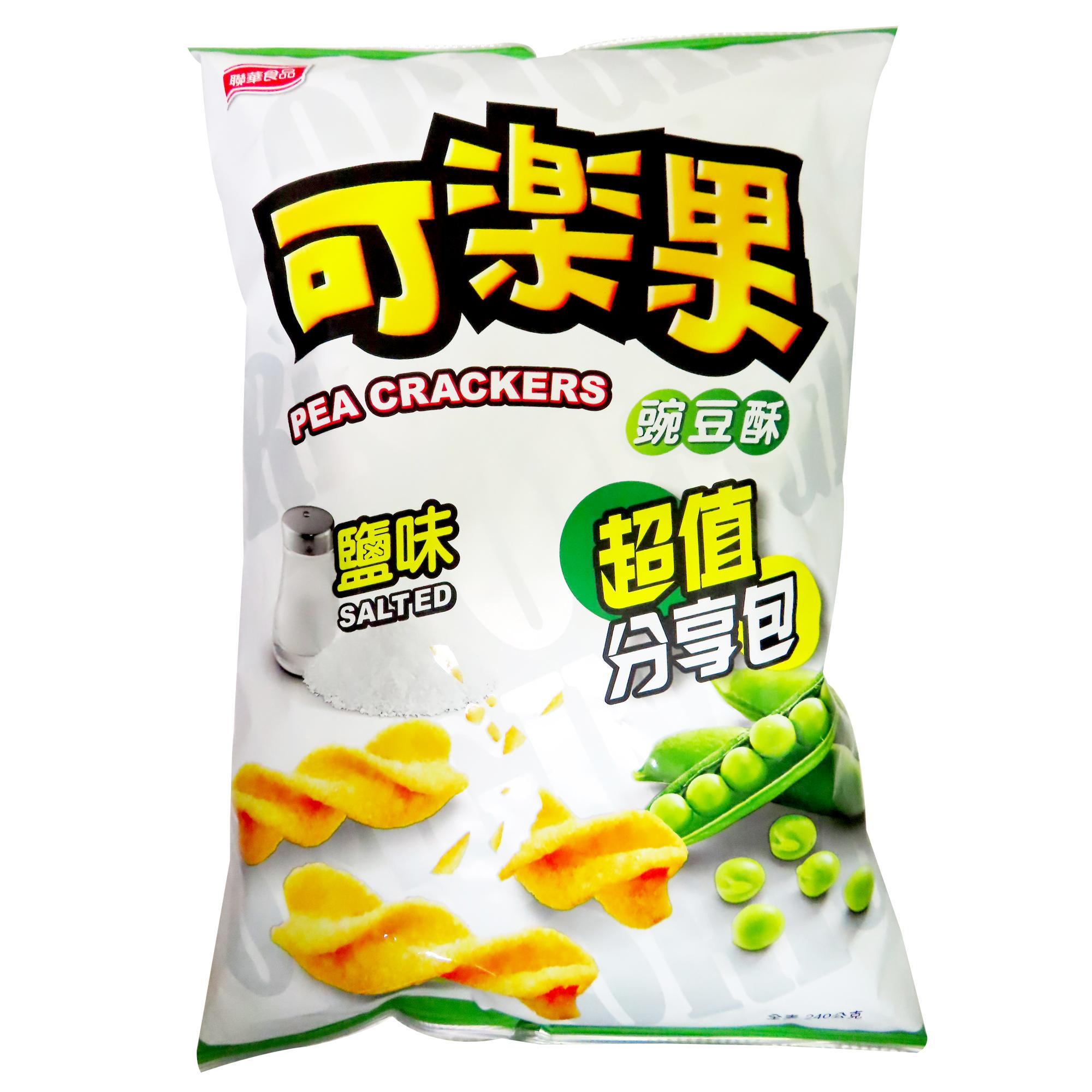 Image Salted Pea Crackers 联华 - 盐味可乐果(大 / 分享包) 240grams