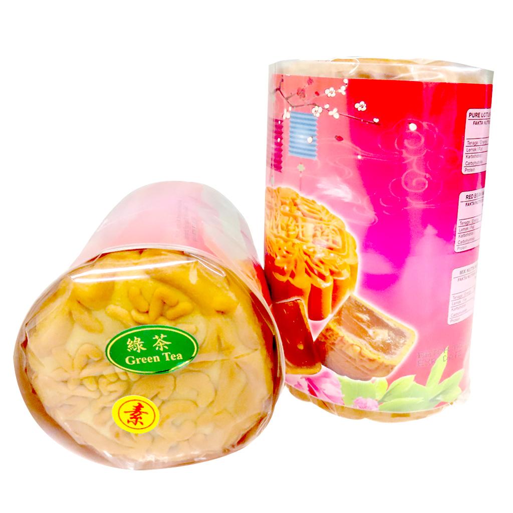 Image Green Tea Moon Cake 绿茶月饼 (纯素) 450grams