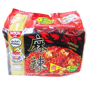 Image Nissin Mala Vege Noodle, Nissin - 麻辣汤面 300grams