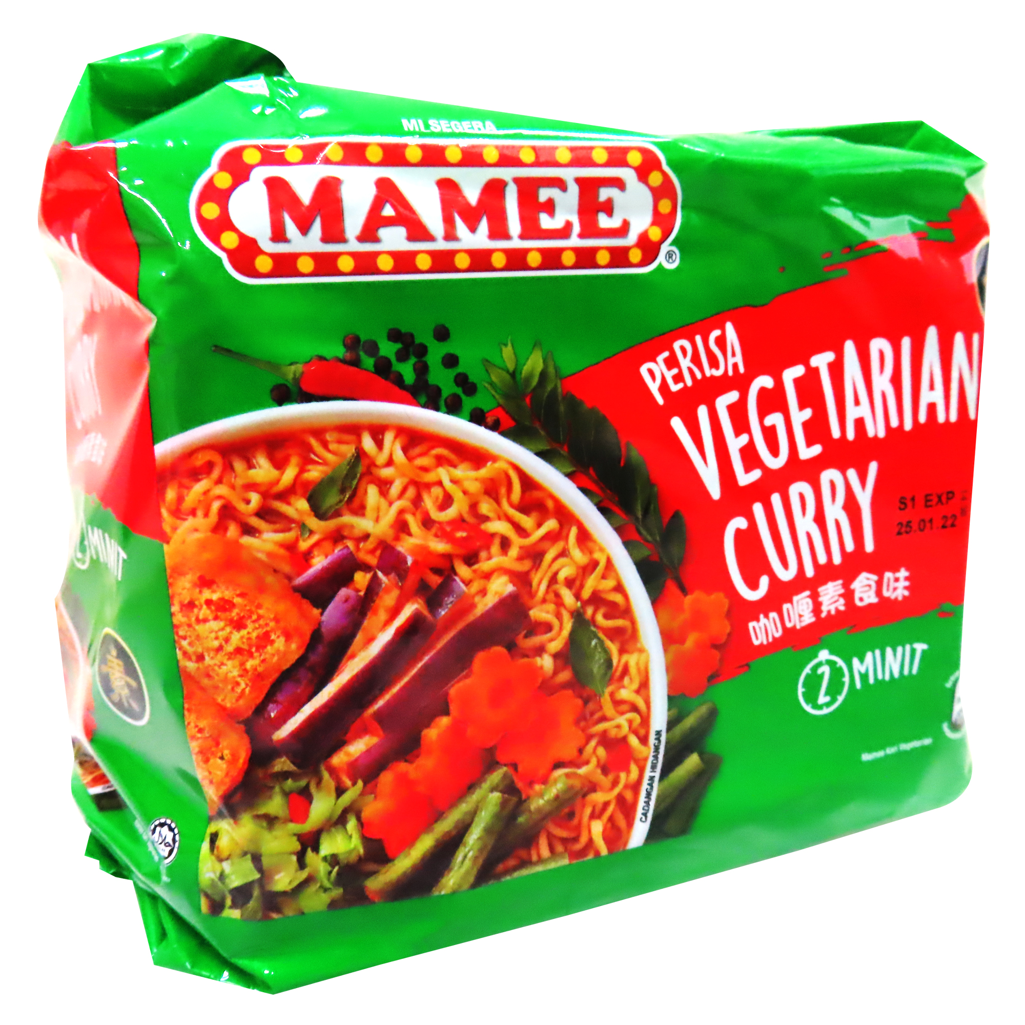 Image Mamee Curry Noodle 妈咪咖喱面 350grams