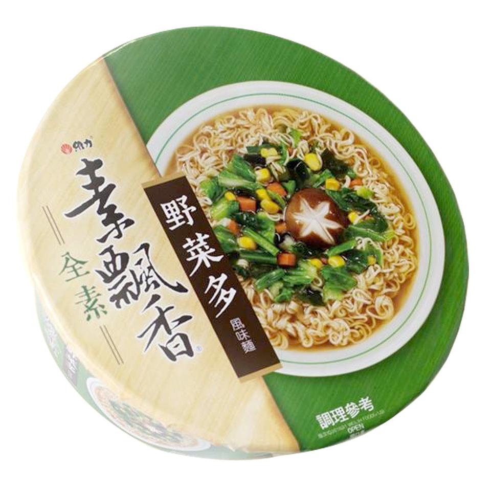 Image Mushroom Noodle 维力 - 素飘香野菜多风味碗面 85grams