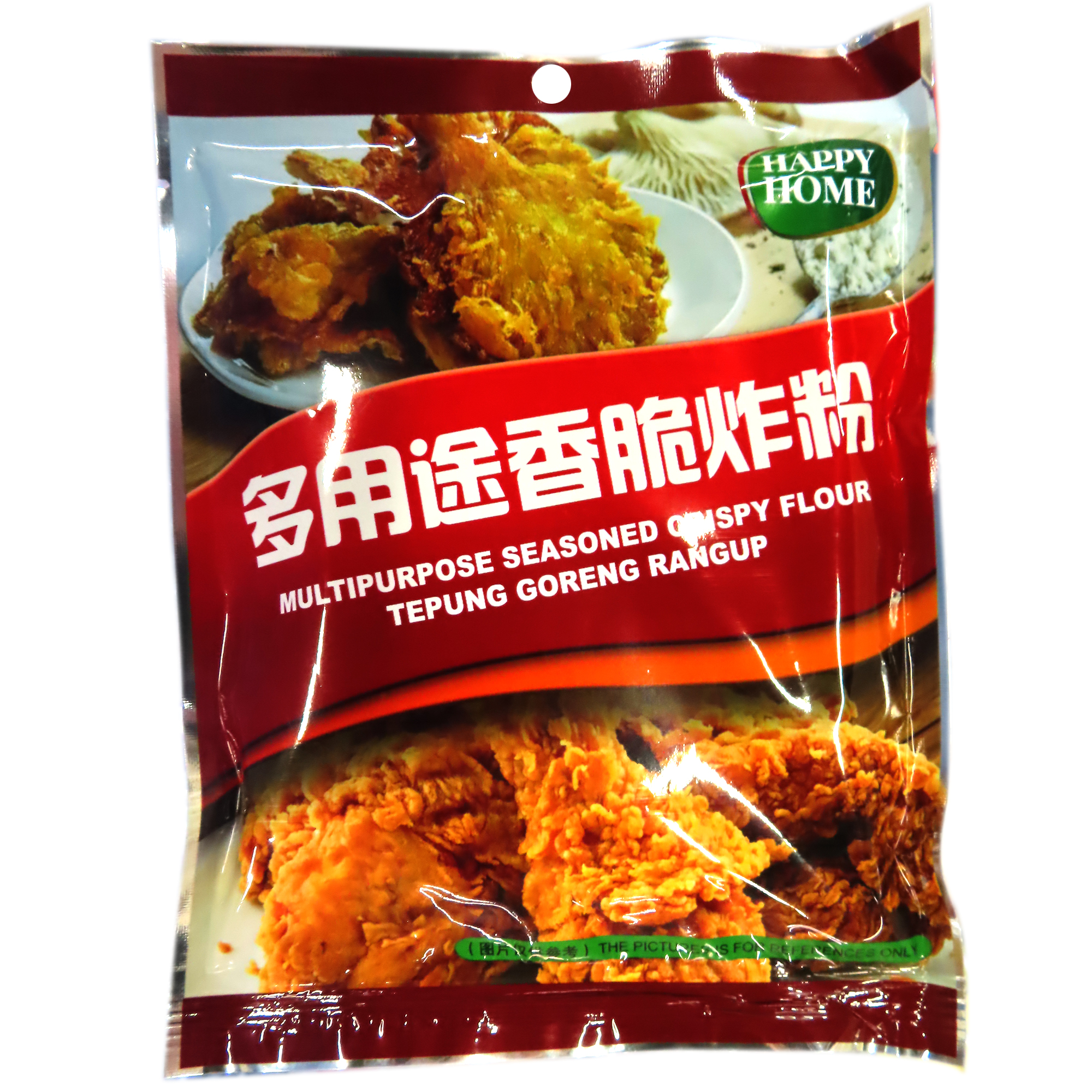 Image Happy Home Multipurpose Seasoned Crispy Flour 多种用途香脆炸粉 200grams