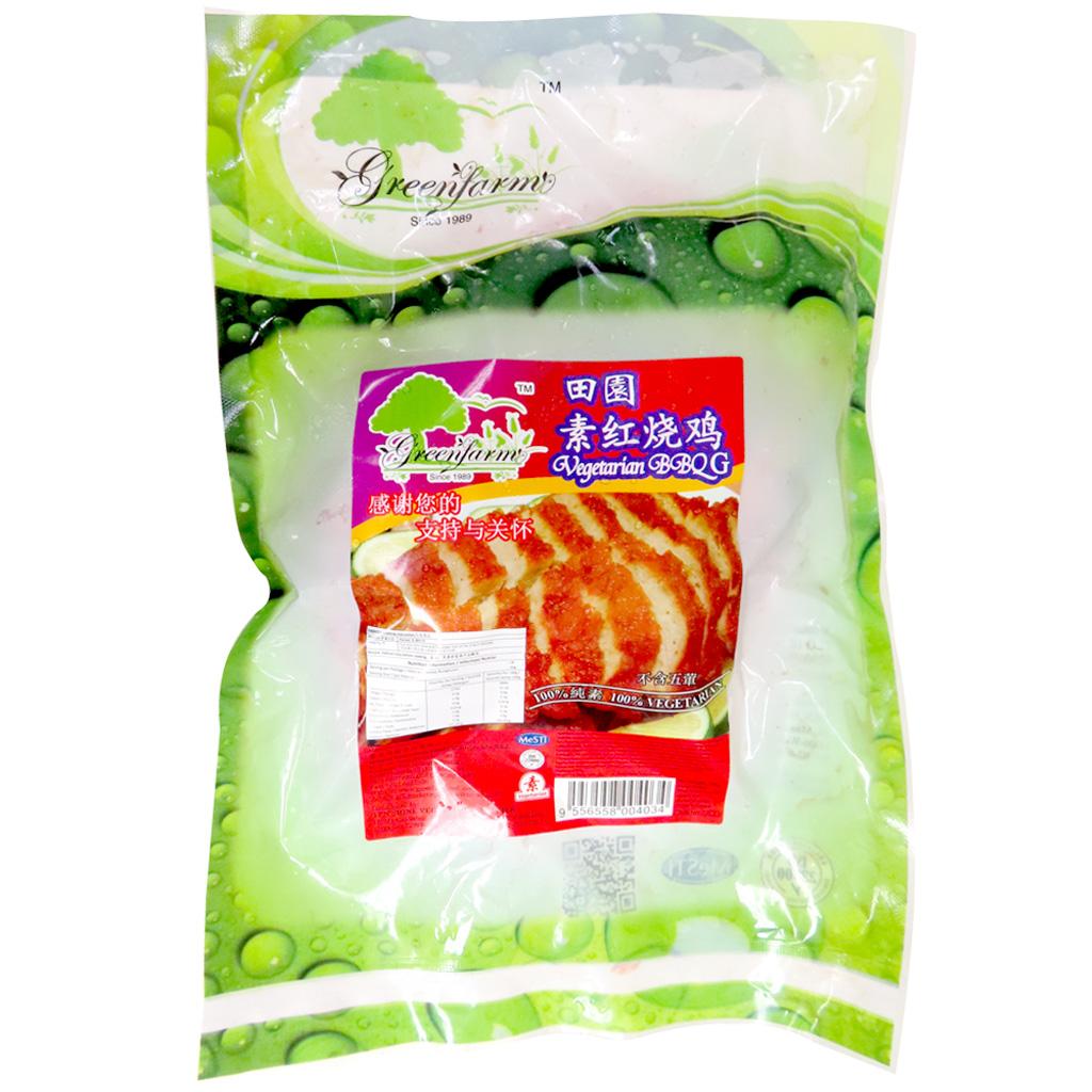 Image Vegetarian BBQ G 田园-素红烧鸡 750 grams
