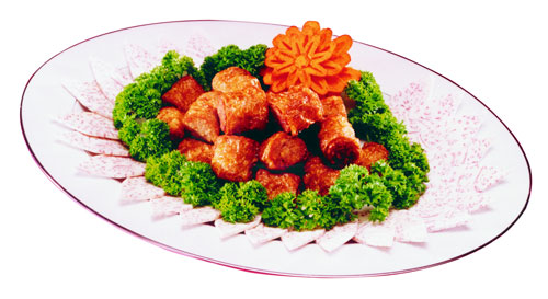 Image Vegetarian Teow Chew Teo Chew Nugget 德明-潮洲枣 500grams