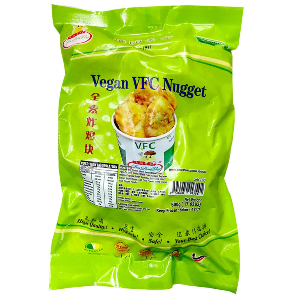 Image Vegan VFC Nugget 德明 - 全素炸鸡块 500grams