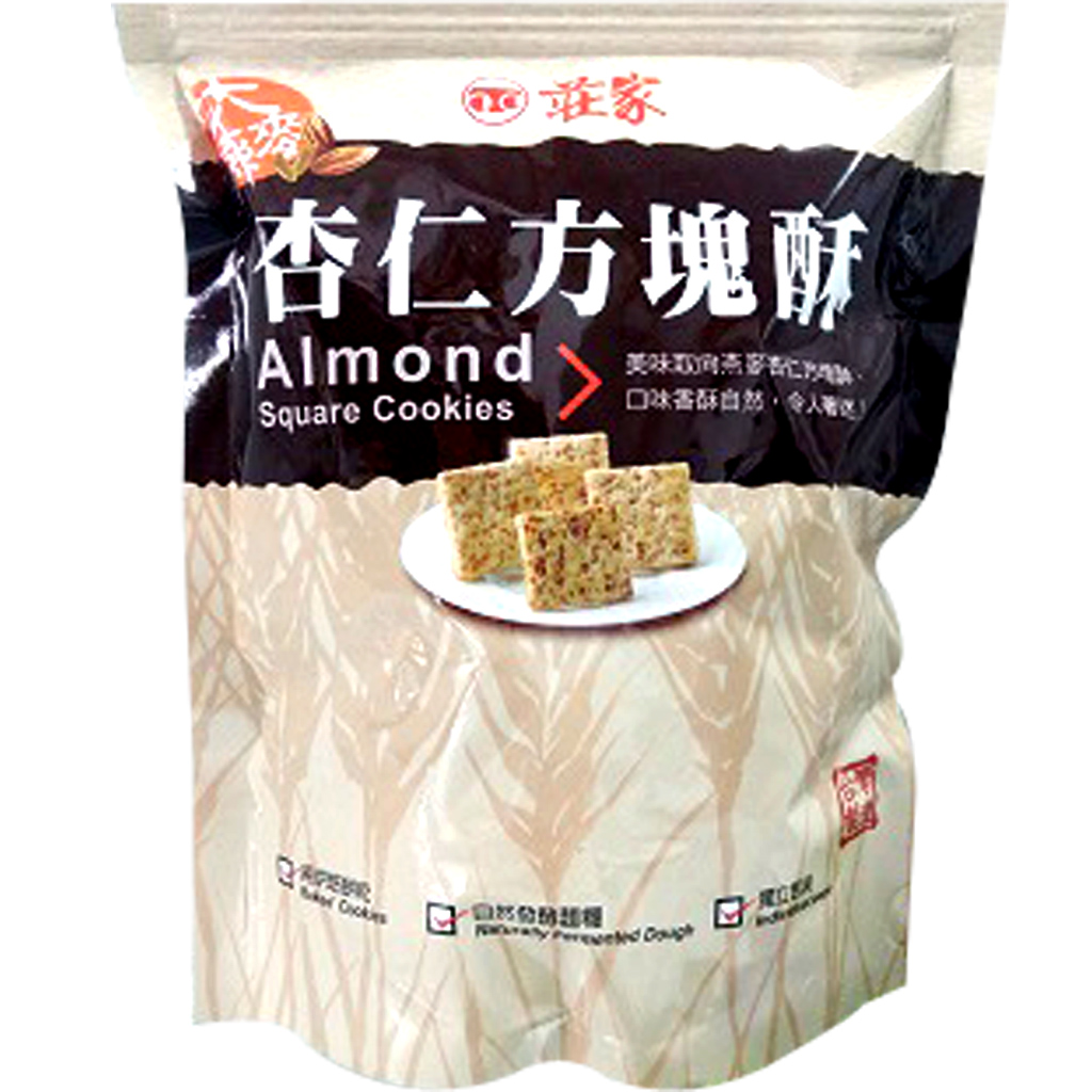 Image Almond Square Cookies 莊家-杏仁方块酥 160 grams