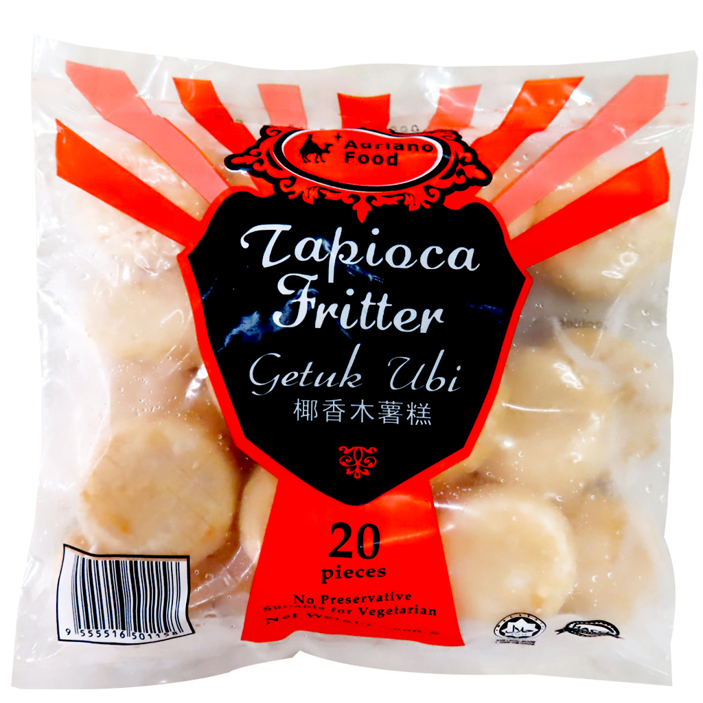 Image Tapioca Fritter Adriano Food-椰香木薯糕 (20 pieces) 800grams