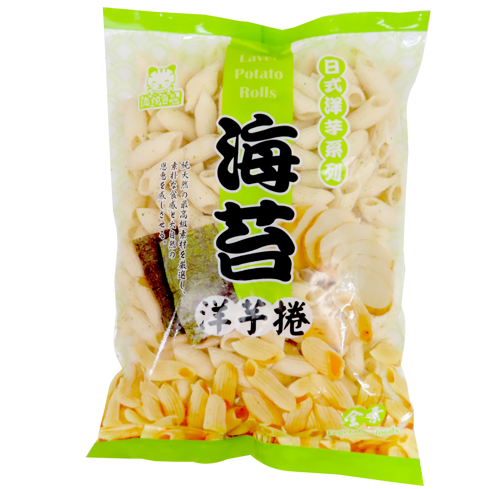 Image Laver Potato Rolls 志恒 - 海苔洋芋捲 180grams