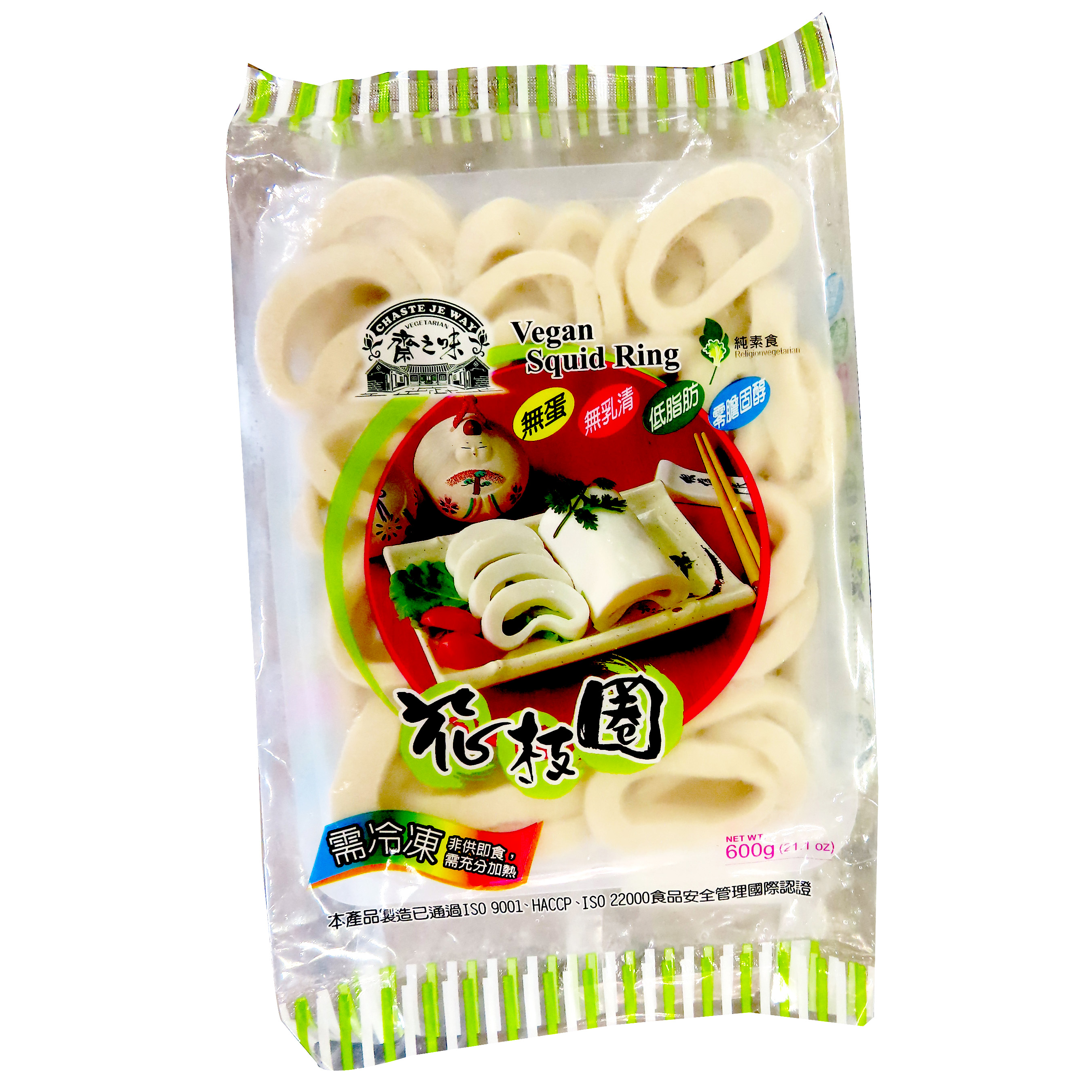 Image Vegetarian Squid Ring 斋之味-花枝圈 600grams