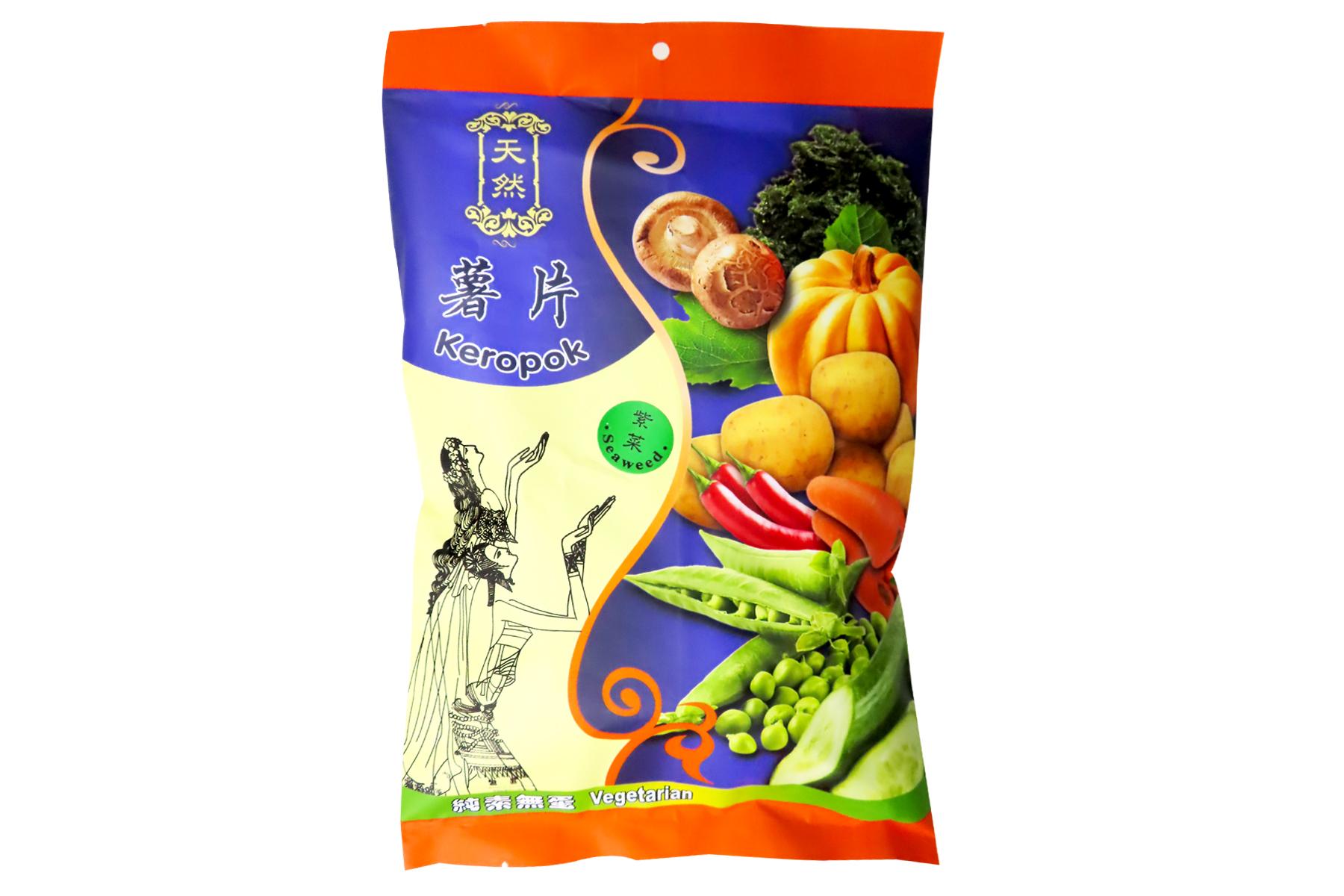 Image Kun Yi Seaweed Cracker 昆益 - 紫菜薯片 40grams
